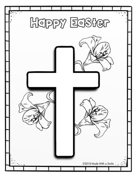 The Story of Easter - Sunday School Coloring Pages by Made ...