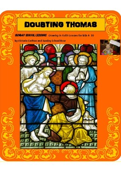 Sunday School Lesson: DOUBTING THOMAS