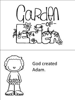 Sunday School Lessons: Adam and Eve