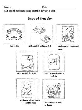 Sunday School Lessons: Creation