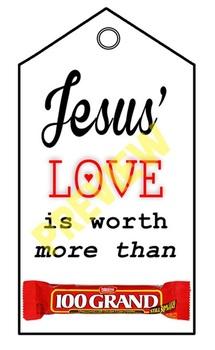 Sunday School Pastor Teacher Appreciation - Jesus Love
