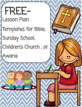 image regarding Free Printable Children's Church Curriculum titled Sunday College or Bible Lesson Program Template