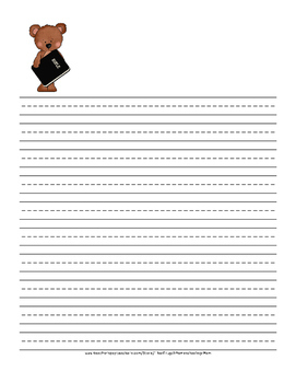 Sunday School or Worship Note-taking Sheets for Children - Church Bears