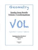 Sunday Soup Bundle 8.G.9 Volume Transformation Cylinders