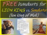 Sundiata & the Mali Empire compared to Disney's The Lion King