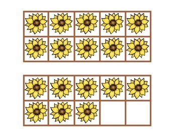 10 Frames  Sunflowers