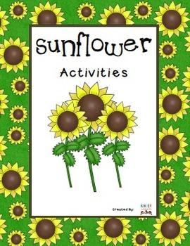 Sunflower Activities Pack