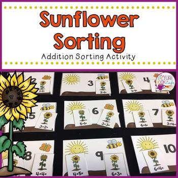 Sunflower Addition Sorting