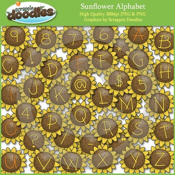 Sunflower Alphabet