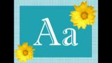 Sunflower Alphabet Decor