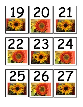 Sunflower Calender