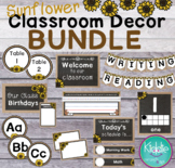 Sunflower Classroom Decor BUNDLE