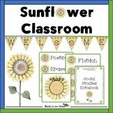 Sunflower Themed Classroom Decor