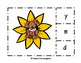 Sunflower Counting 1-20 and Beginning Sounds Match