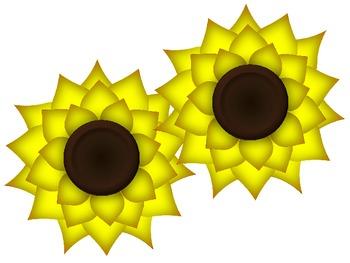 Sunflower Cutouts