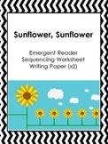 Sunflower Emergent Reader Pack