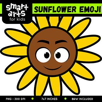 Sunflower Emoji Clip Art