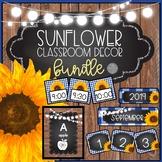 Sunflower Farmhouse EDITABLE Classroom Decor GROWING BUNDLE