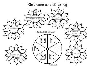 Sunflower KindnessFreebie