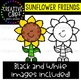 Sunflower Friends Clipart {Creative Clips Clipart}