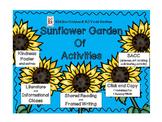 Kindness--Sunflower Garden of Activities - Kiddos Connect