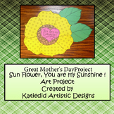 Sunflower Craft, Mother's Day Gift