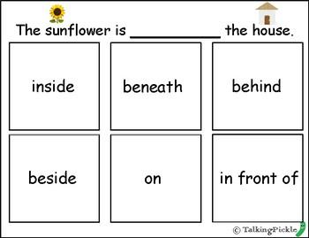 """""""Sunflower House"""" Speech Activities"""