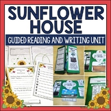 Sunflower House by Eve Bunting Book Activities and Plants Lapbook