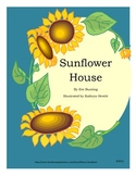 Sunflower House by Eve Bunting reading unit graphic organi