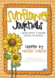 Sunflower Journals Writing Prompts to Promote Positivity & Joyfulness