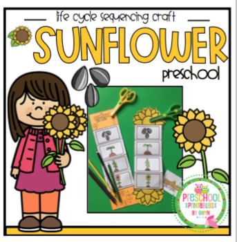 Sunflower Life Cycle Craft By Preschool Printable Tpt