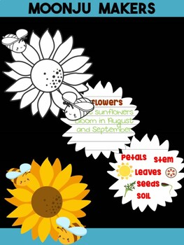 Sunflower - MOONJU MAKERS Printable