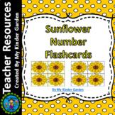 Sunflower Math  Number Flashcards 0-100