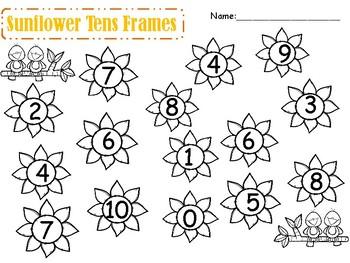 Sunflower Number Match