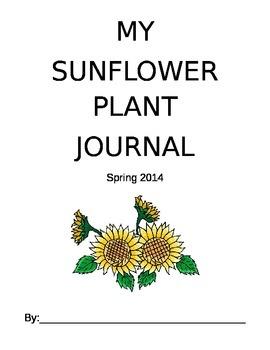 Sunflower Plant Journal--Six Weeks