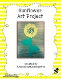 Sunflower Art Project