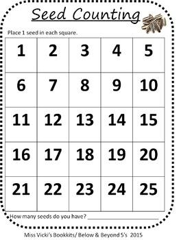 Sunflower Science, Math & Language Art Activities Pre-k -2nd Grade
