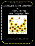 Sunflower Science, Math & Language Art Activities Pre-k -2
