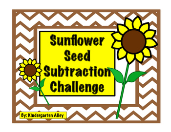 Sunflower Seed Subtraction Challenge