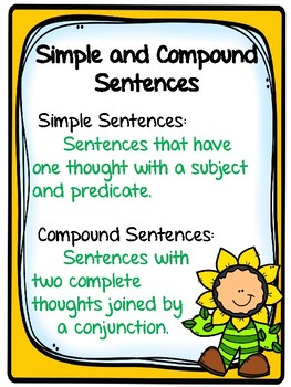 Sentences for Third Grade