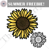 Sunflower Summer Freebie