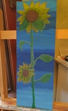 Sunflower Tempera Painting Lesson Plan