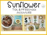 Sunflower: Tot & Preschool Mini Unit