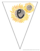 Sunflower Welcome Banner
