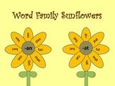 Sunflower Word Families
