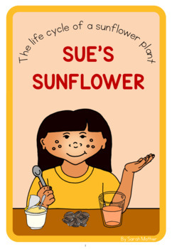 Sunflower life cycle  book