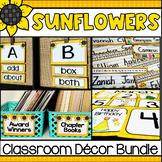 Sunflowers Classroom Decor Bundle