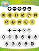 Sunflowers Math Numbers Clipart — Over 30 Graphics!