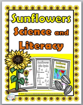 Sunflower Life Cycle, Science & Literacy - Sunflower Unit - Sunflower Science