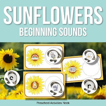 Sunflowers and Seeds Beginning Sounds